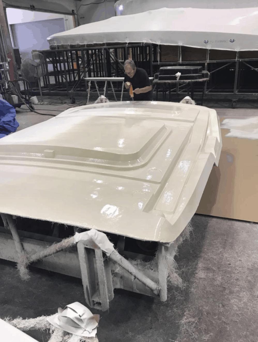 Fibershield™ sprays on uniformly, even on complex surfaces.